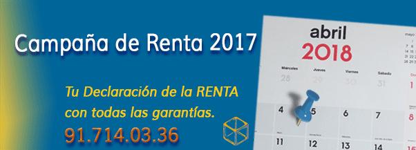 Renta 2017 Novedades