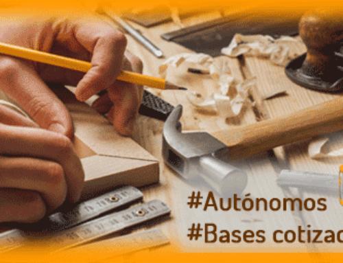 Autónomos… Solicitud de cambios de Bases de cotización.