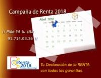 Campaña de la renta 2017
