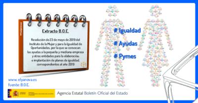 Ayudas para Pymes Igualdad