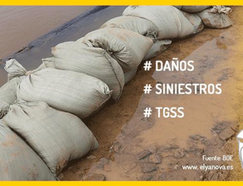 Medidas urgentes para paliar los daños causados por temporales y otras situaciones catastróficas
