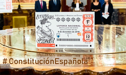 Constitución Española 40 aniversario, con los ojos de Forges.