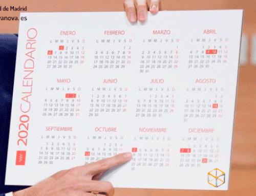Calendario Laboral para 2020 recién aprobado por la Comunidad de Madrid