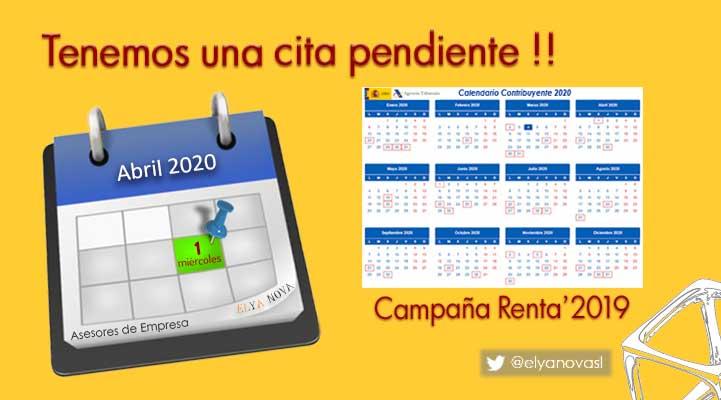 Renta-2019-calendario