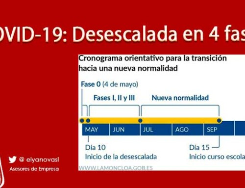 Coronavirus: Desescalada por fases que regularán la vuelta a la actividad
