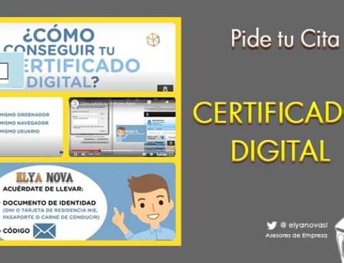 La necesidad del Certificado Digital.