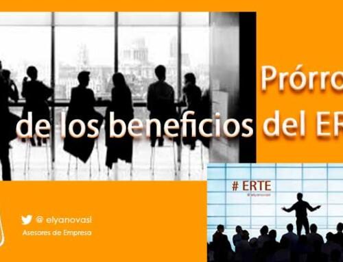 Acuerdo con los agentes sociales para prorrogar los beneficios de los ERTE