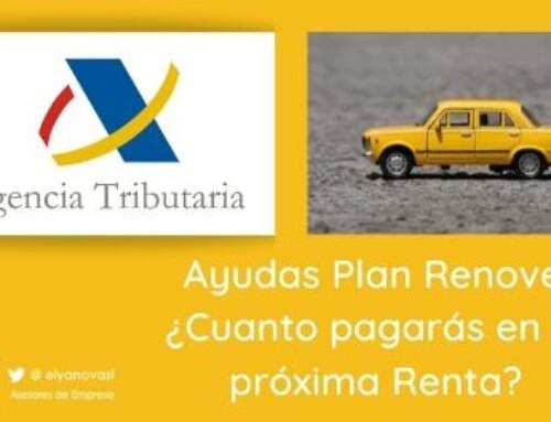 Plan Renove y cuánto pagarás en la Declaración de la Renta