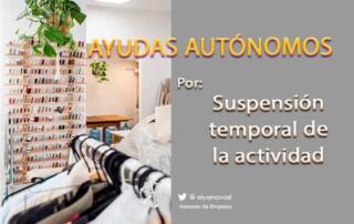 ayudas-autónomos-suspensión-actividad