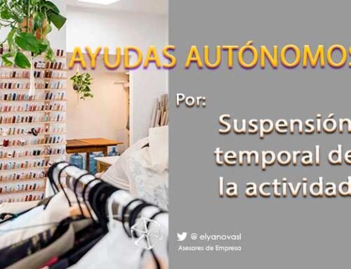 Las ayudas para trabajadores autónomos por suspensión de actividad