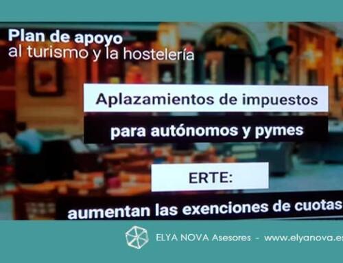 Se han aprobado nuevas ayudas para Hostelería, Turismo y Comercio minorista