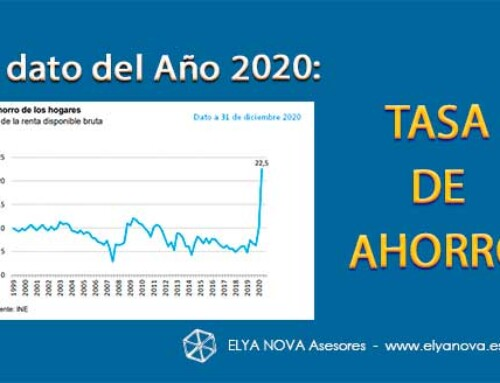 La Tasa de Ahorro elegida el dato del año 2020