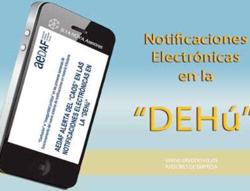 La AEDAF advierte de la confusión y el caos que se está generando DEHú Dirección Electrónica Habilitada única