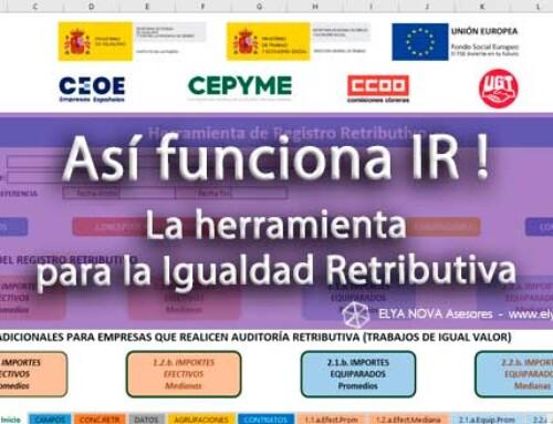 Aquí tienes la nueva Herramienta para la Igualdad Retributiva IR!