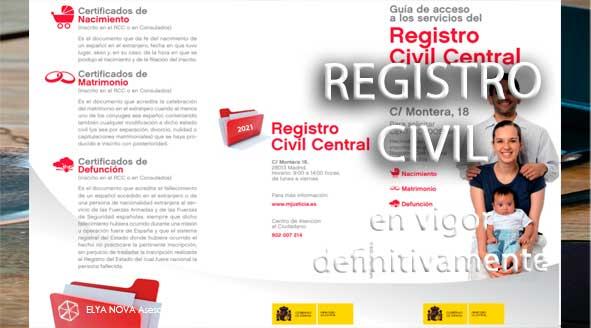 nuevo registro civil folleto
