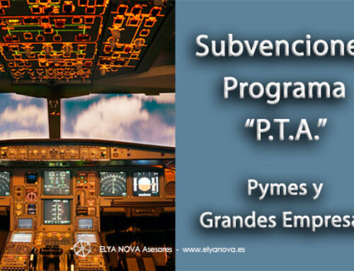 Primera convocatoria del Programa Tecnológico Aeronáutico PTA dotado con 35 M de €uros en subvenciones