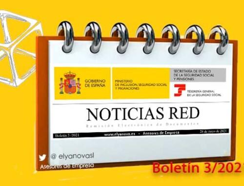Publicado el Boletín de Noticias del sistema RED 2021-3 (BNR 3/2021)