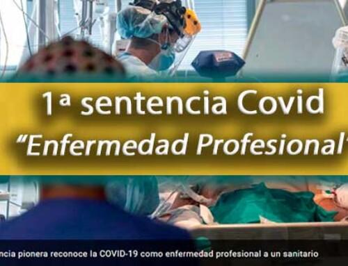 La primera sentencia en España que reconoce el COVID como Enfermedad Profesional