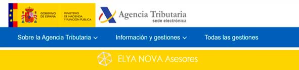 Agencia Tributaria cabecera contacto
