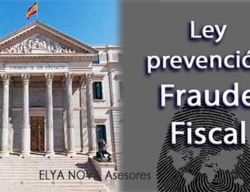 El Congreso aprueba definitivamente la Ley de prevención y lucha contra el fraude fiscal