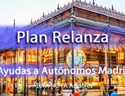 Aprobado el Plan Relanza de Ayudas directas a los Autónomos Madrid
